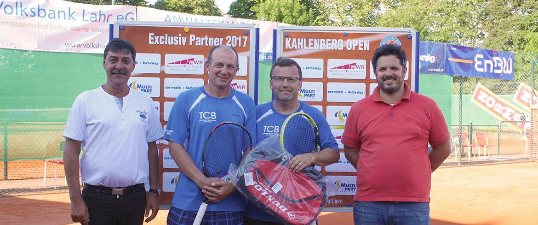 David Krizek (TC Blau-Weiß Bohlsbach e.V.) siegt bei den Herren 40