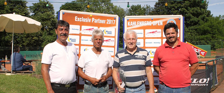 Wolfgang Kreeb (Sport-Club Freiburg e.V.) siegt bei den Herren 60