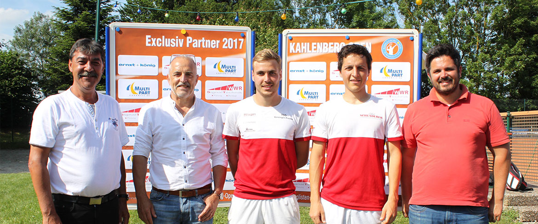 Bendix Ortlieb (TC Rot-Weiß Staufen e.V.) siegt bei den Herren B